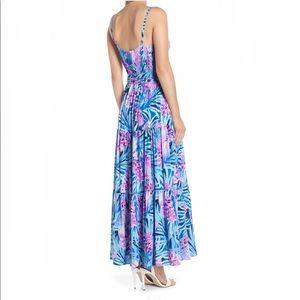 Lilly Pulitzer Dresses - NWT Lilly Pulitzer Aviana Maxi Tweethearts SIZE 6